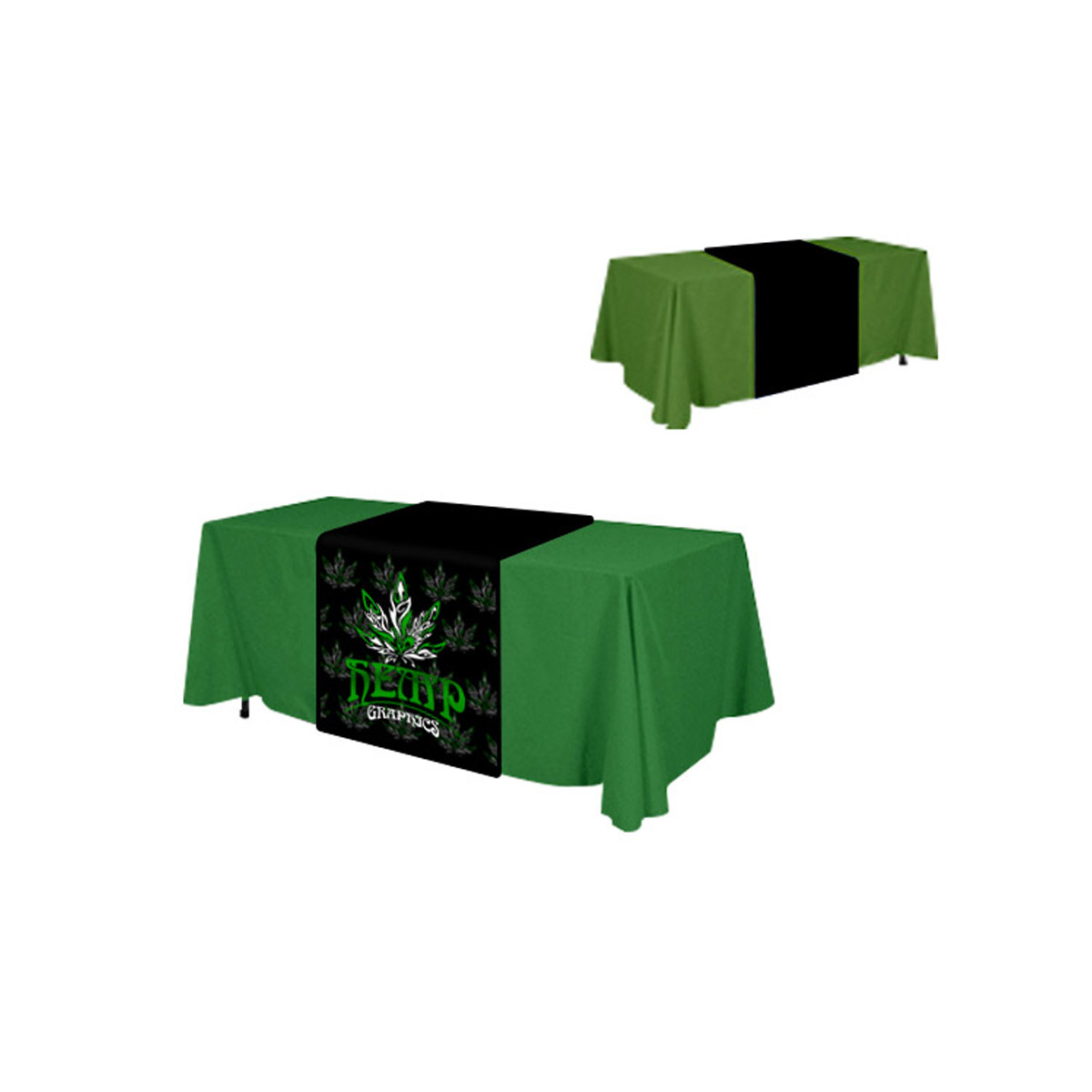 Table Runner Amp Solid Color Table Throw Hemp Graphics